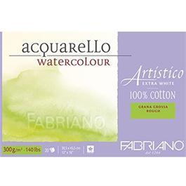 Fabriano Artistico Water Colour Blocks Extra White 140lbs 'Rough' thumbnail
