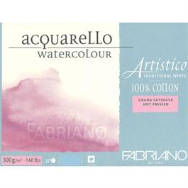 Fabriano Artistico Water Colour Block Traditional White 140lbs 'HP' thumbnail