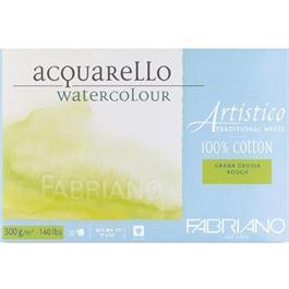 Fabriano Artistico Water Colour Blocks Traditional White 140lbs Rough thumbnail