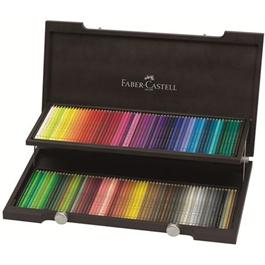 Faber Castell Polychromos Pencils - Wooden Case of 120 thumbnail