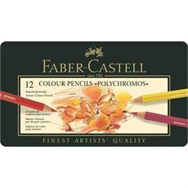 Faber Castell Polychromos Pencils Tin of 12 thumbnail