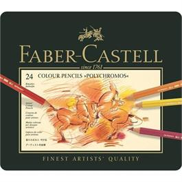 Faber Castell Polychromos Pencils Tin of 24 thumbnail