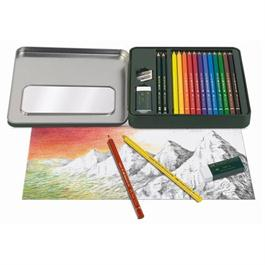 Faber Castell Polychromos Mixed Media Set Thumbnail Image 2