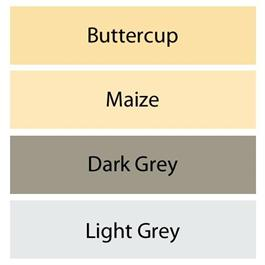 Clairefontaine Pastelmat Pad - Maize, Buttercup, Light Grey, Dark Grey Thumbnail Image 1