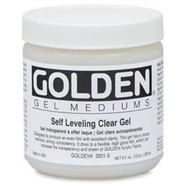 Golden Self Levelling Clear Gel - 236ml Pot thumbnail
