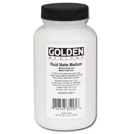 Golden Fluid Matt Medium - 236ml thumbnail