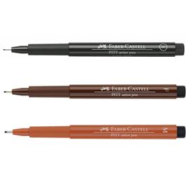 Faber-Castell Pitt Artists' Pen Single Colours