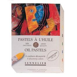 Sennelier Oil Pastels 6 Discovery Colours thumbnail