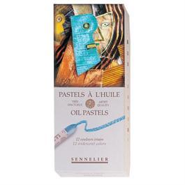 Sennelier Oil Pastels 12 Iridescent Colours thumbnail