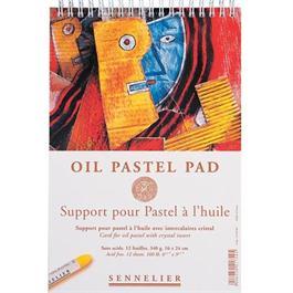 Sennelier Oil Pastel Pad 16cm x 24cm thumbnail