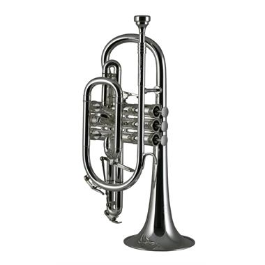Catelinet Rousseau HC20S B flat cornet (silver) thumbnail