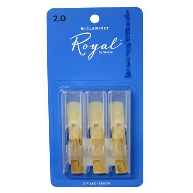 Rico Royal B flat clarinet reed (3-pack) thumbnail