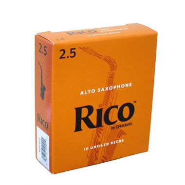 Rico alto sax reed (box of 10) thumbnail