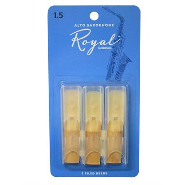 Rico Royal alto sax reed (3-pack) thumbnail