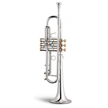 Stomvi Elite 330-ML B flat trumpet (silver) thumbnail