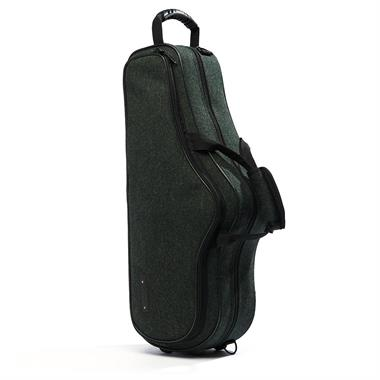 Beaumont alto sax case (racing tweed) thumbnail