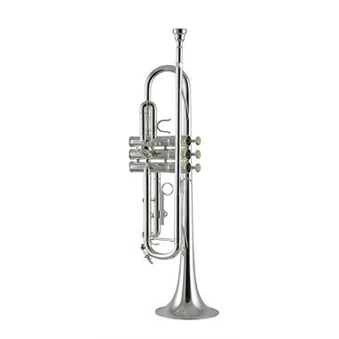 Catelinet CTR14S B flat trumpet (silver) thumbnail