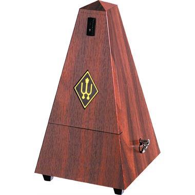 Wittner Maelzel metronome (plastic, mahogany grain) thumbnail