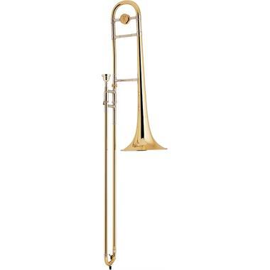 Bach Stradivarius 36 B flat tenor trombone (lacquer) thumbnail