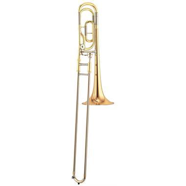 Yamaha YSL448GE B flat/F tenor trombone (lacquer) thumbnail