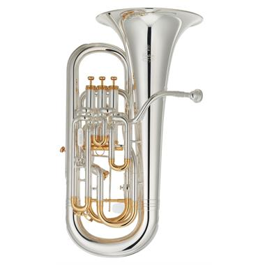 Yamaha Custom YEP842TS euphonium with trigger (silver) thumbnail