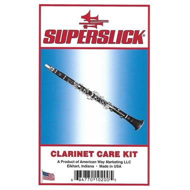 Superslick clarinet care kit thumbnail