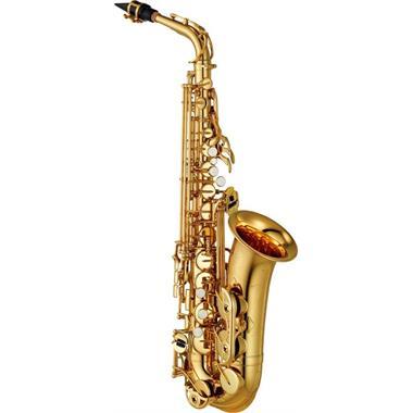 Yamaha YAS480 alto saxophone (lacquer) thumbnail