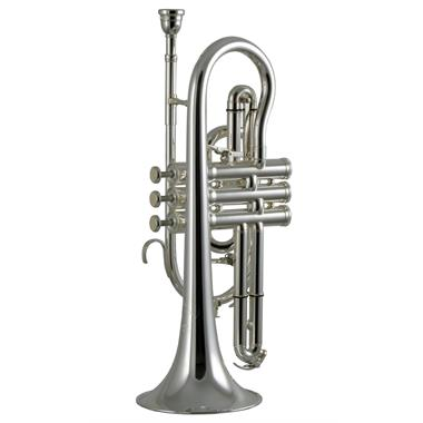 Besson Sovereign BE928-2 B flat cornet (silver) thumbnail