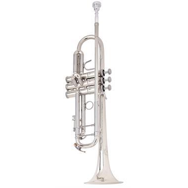 B&S Challenger I B flat trumpet (lacquer) thumbnail