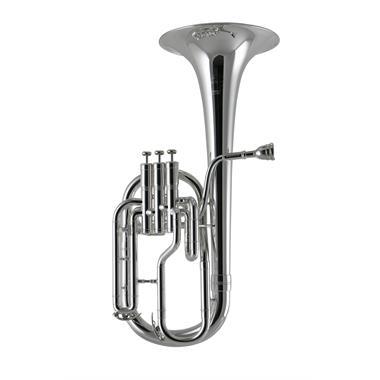 Besson Sovereign Anniversary BE950-2M tenor horn (satin silver) thumbnail