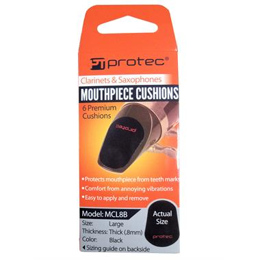 Protec mouthpiece cushions (6-pack, large) thumbnail