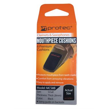Protec mouthpiece cushions (6-pack, small) thumbnail