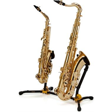 Hercules DS537B duo saxophone stand thumbnail
