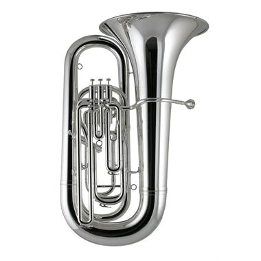 Besson Sovereign BE994 BB-flat tuba (silver) thumbnail