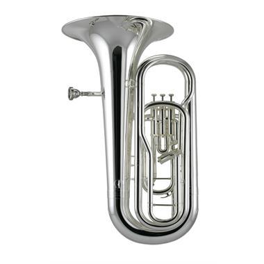 Catelinet CTU12S E-flat tuba (silver) thumbnail