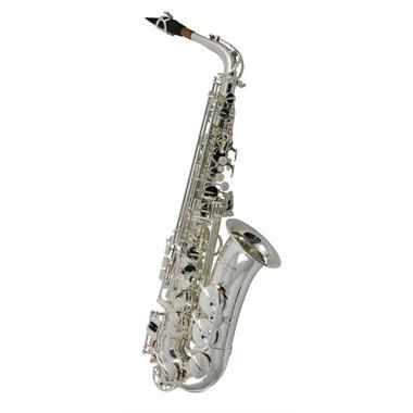 Catelinet CAS10S alto saxophone (silver) thumbnail