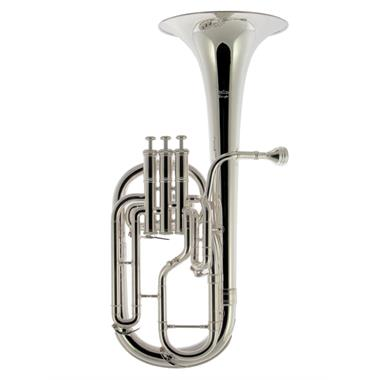 Catelinet HC50S tenor horn (silver) thumbnail