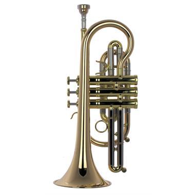 Schagerl 620L B flat cornet (lacquer) thumbnail