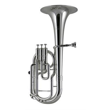 Yamaha Neo YAH803S tenor horn (silver) thumbnail
