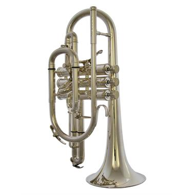 Besson Sovereign BE928GT-2 B-flat cornet (silver) thumbnail