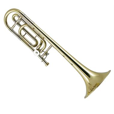 Bach Stradivarius 42B B-flat/F tenor trombone (lacquer) thumbnail