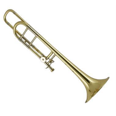 Bach Stradivarius 42BO B-flat/F tenor trombone (lacquer) lightweight slide thumbnail
