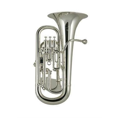 Besson Sovereign BE967T-2 euphonium (silver) with trigger thumbnail