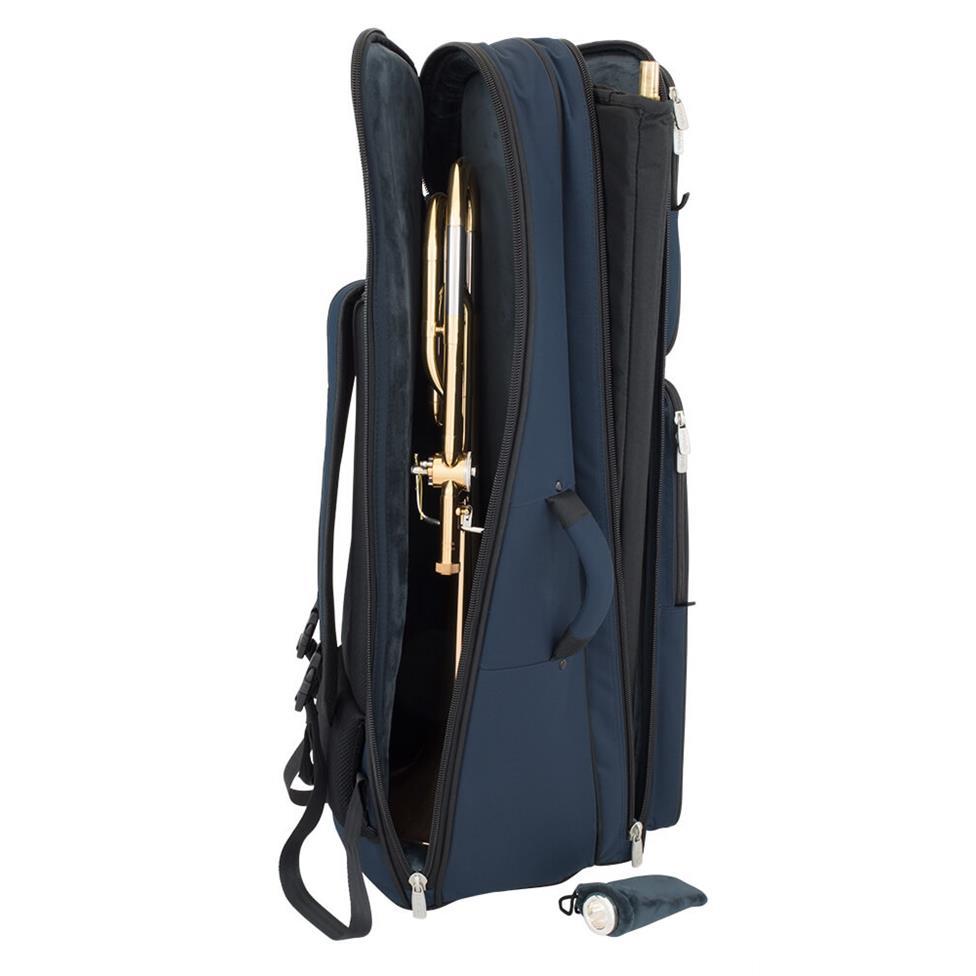 Tom & Will tenor trombone blue gig bag