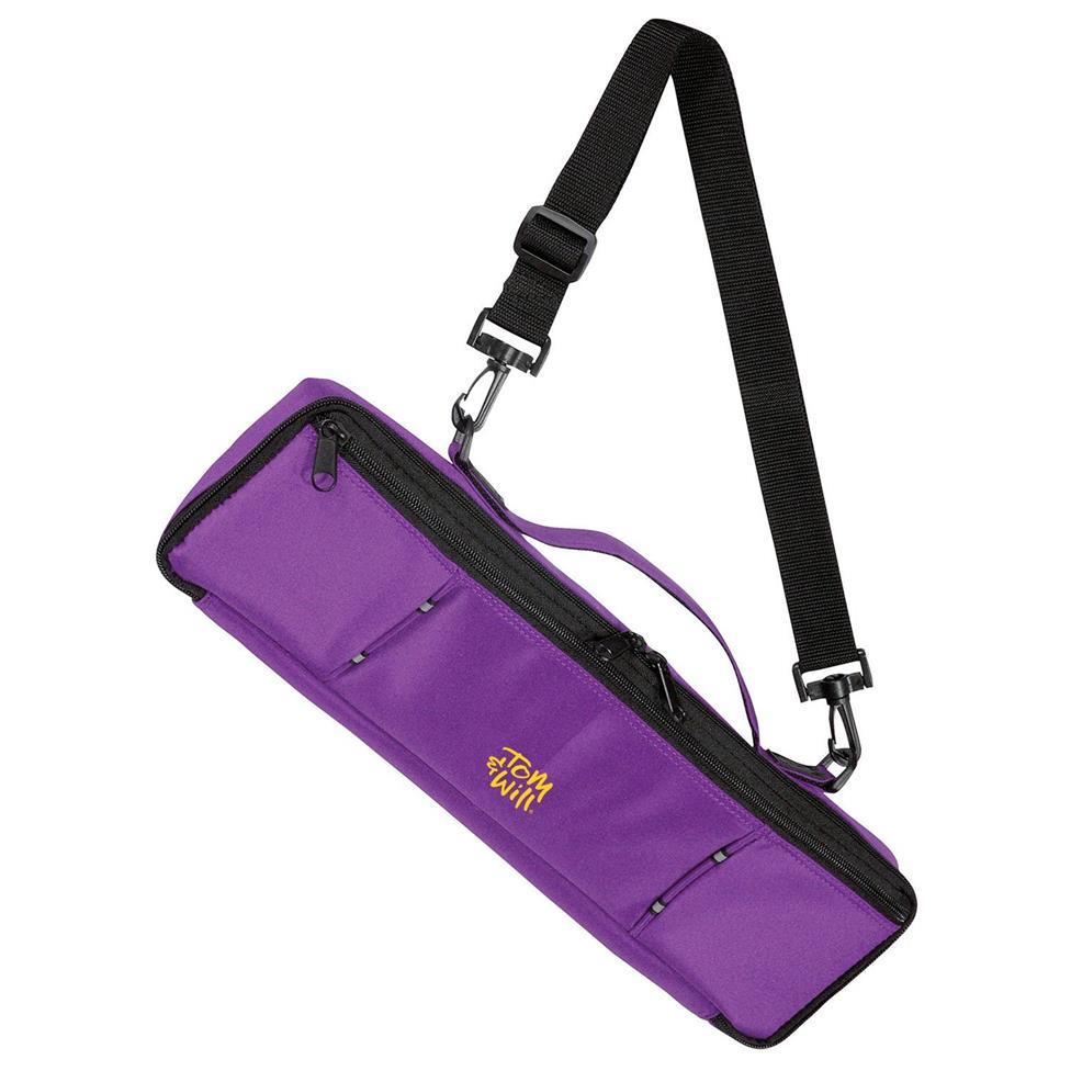 Tom & Will flute case cover (purple) Image 1