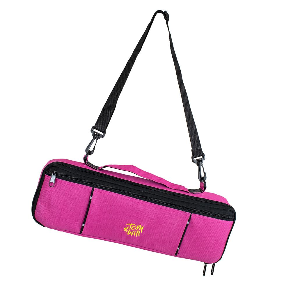 Tom & Will flute case cover (pink)