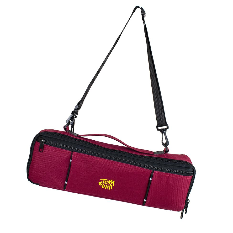Tom & Will flute case cover (burgundy)
