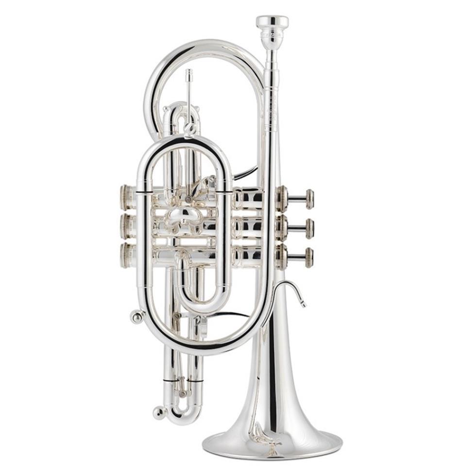 Stomvi Titan B-flat cornet (gold brass bell) Image 1