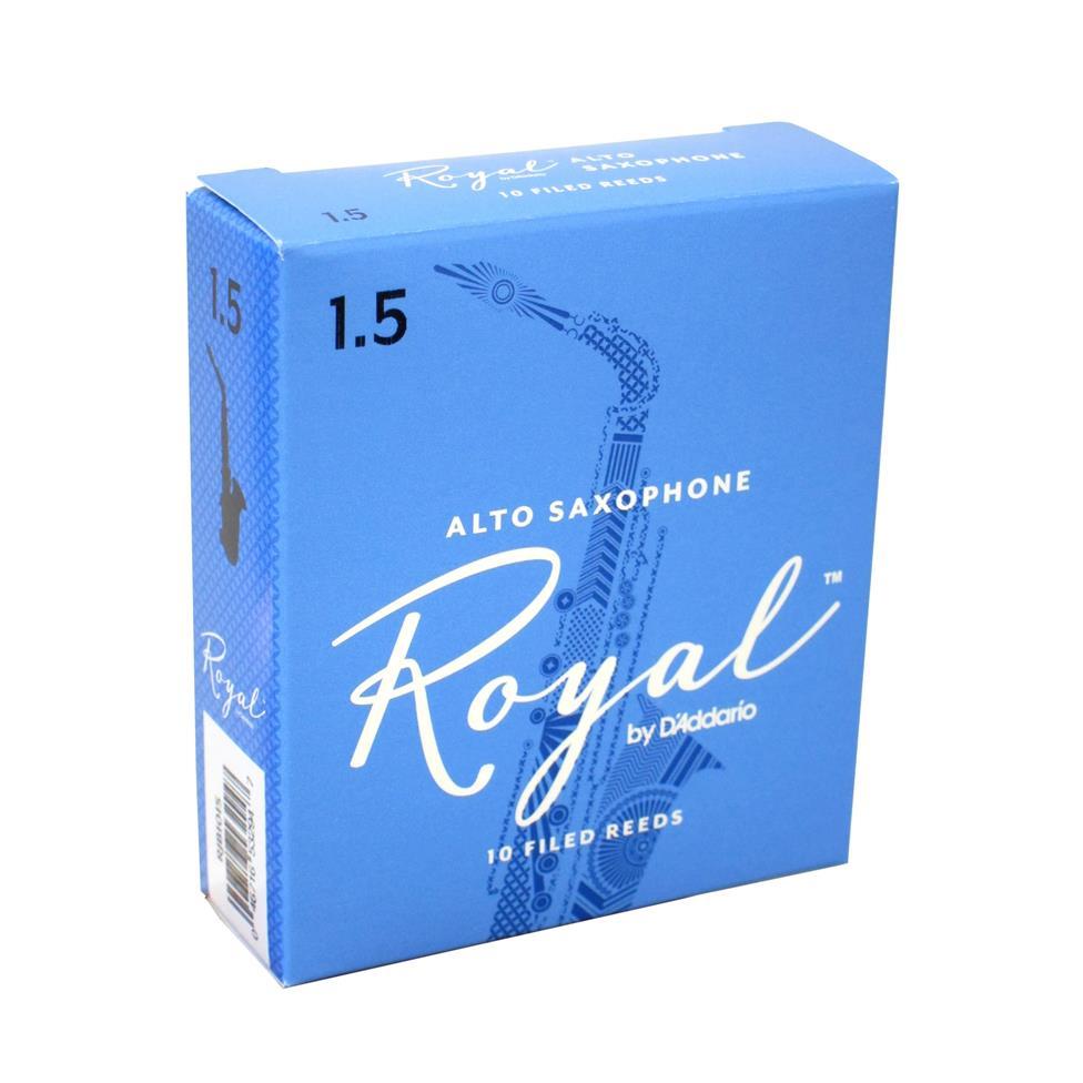 Rico Royal alto sax reed (box of 10) Image 1