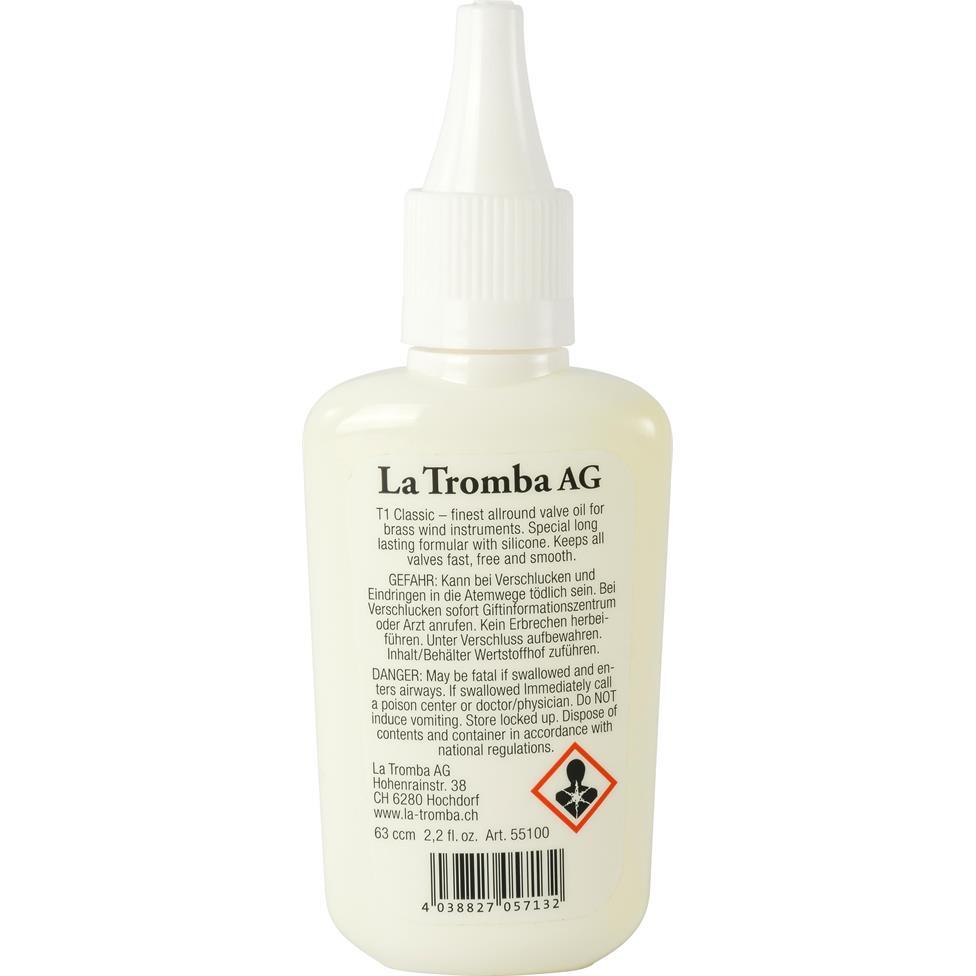 La Tromba T1 valve oil